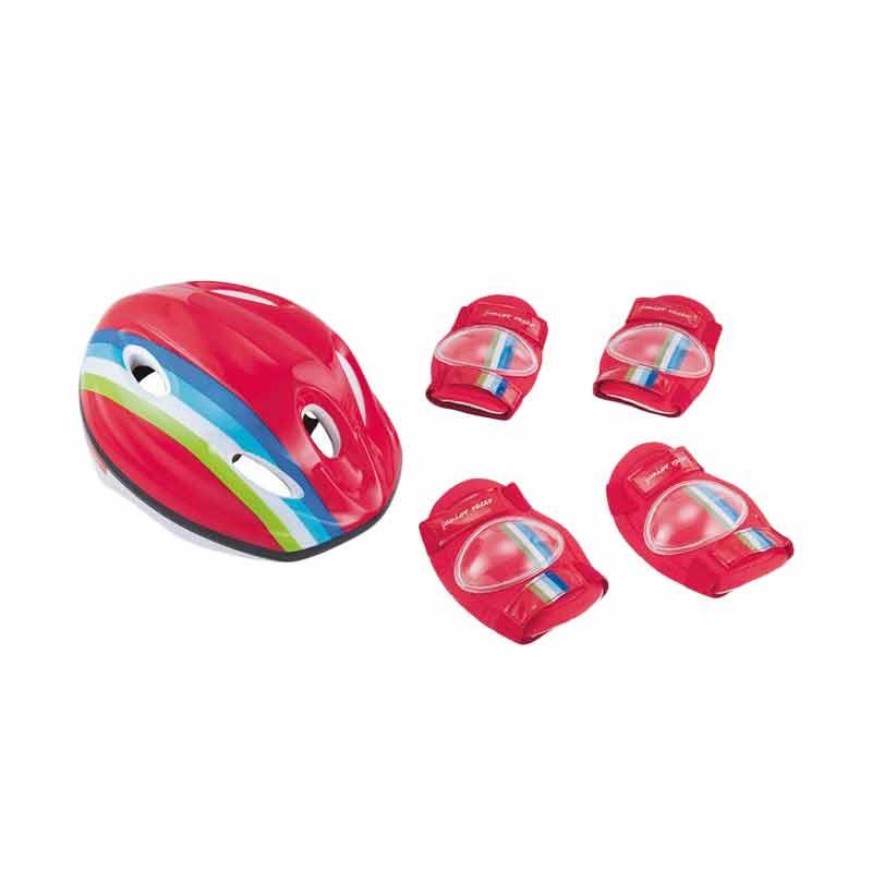 harga ELC 140316 Striped Safety Set Maina Anak - Merah Blibli.com