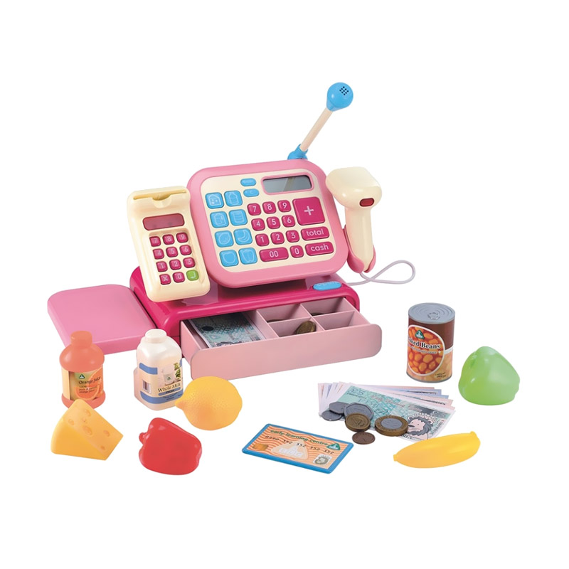 ELC Cash Register Merah Muda Mainan Anak [134207]