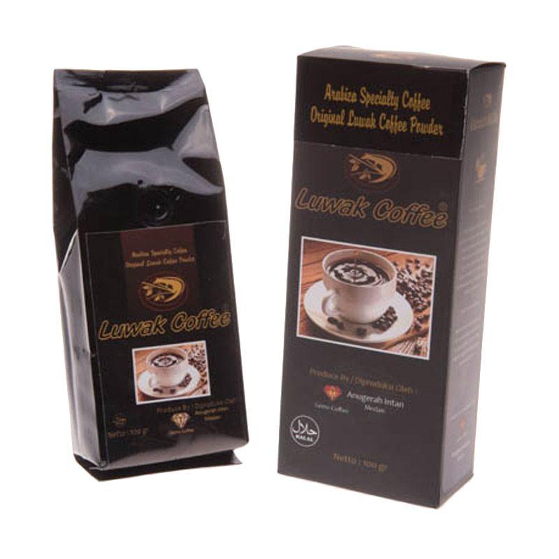 Elfando Arabica Original Luwak Coffee Powder [100 g] Kopi