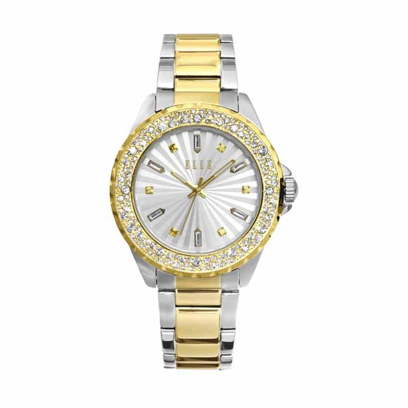 Elle Time EL20341B11C Jam Tangan Wanita - Silver-Gold