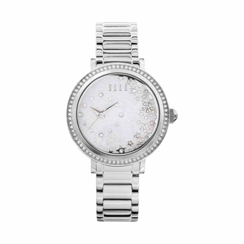 Elle Time EL20351B01N Jam Tangan Wanita - Silver