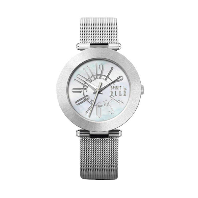 Elle Spirit Bracelet ES20045B01X Jam Tangan Wanita - Silver