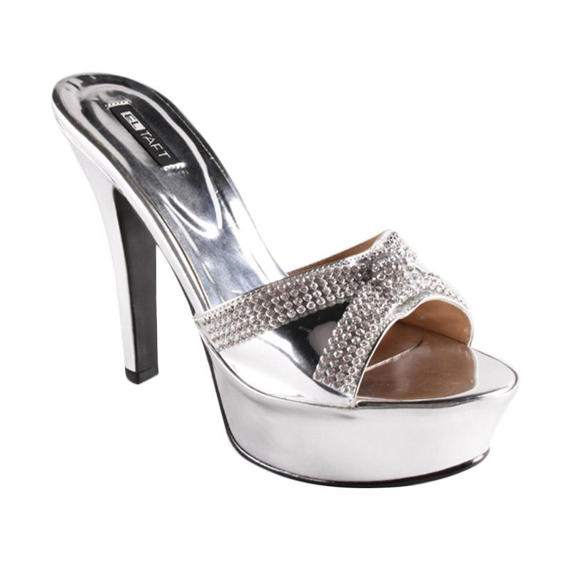Jual Eltaft Heels SD1002 Silver Sepatu Hak Tinggi Wanita
