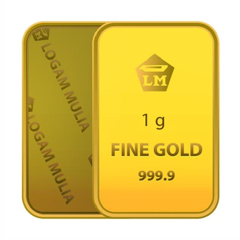Emas gold gloria emas gold gloria   logam mulia   1 gram   sertifikat antam full02