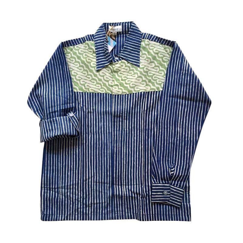 Embun Kids Davandra Shirt Blue Atasan Anak Laki-Laki