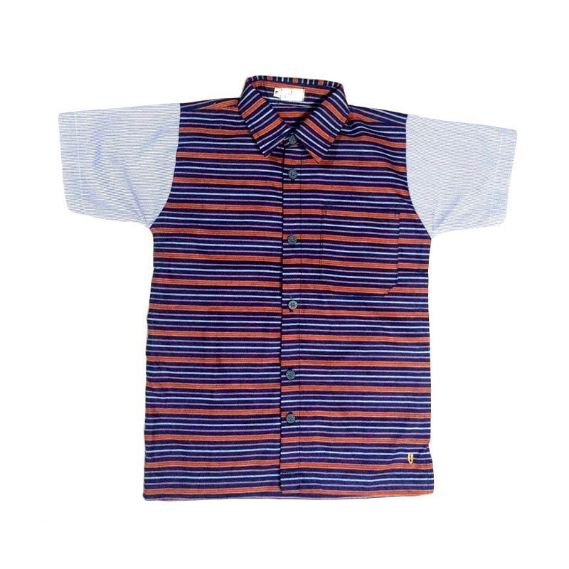 Embun Kids Lurik Shirt Atasan Anak Laki-Laki