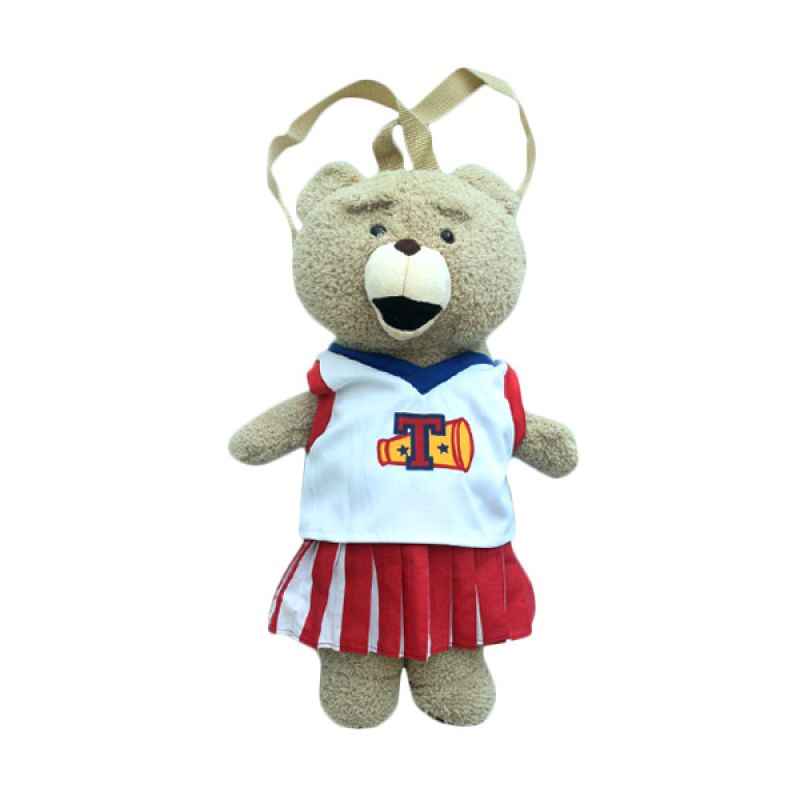 Emily Labels - Bear Cheerleader