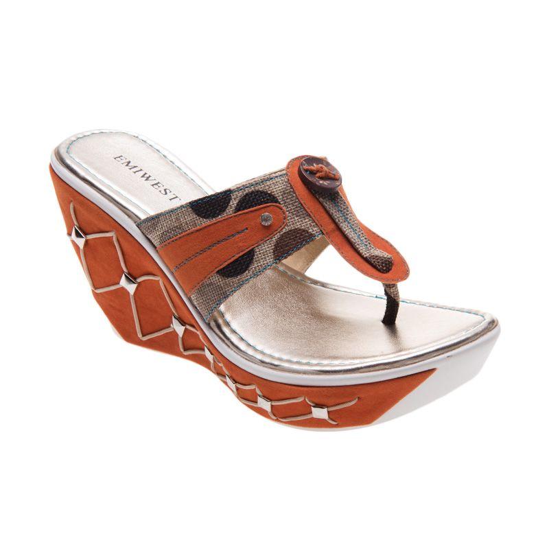 Emiwest CRISTY Orange Sandal Wanita