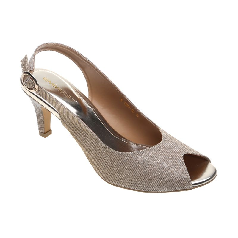 Emiwest Kayla K.0939-10 Gold Sepatu Wanita