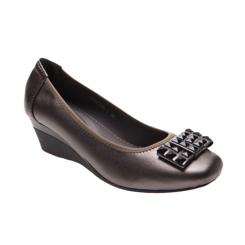 Emiwest LINDA Grey Sepatu Flat Wanita