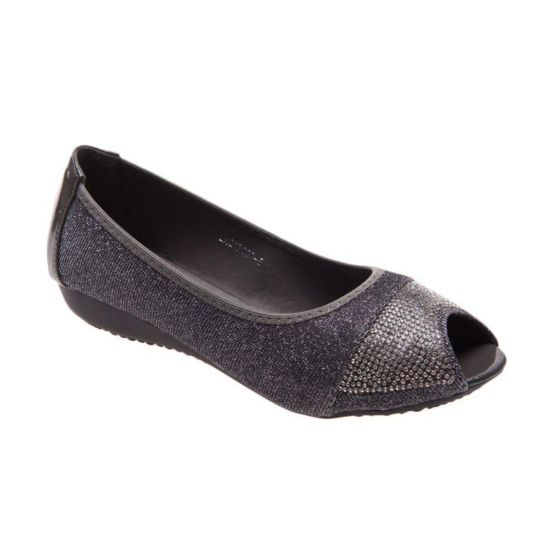 Emiwest Luna Grey Sepatu Flat Wanita
