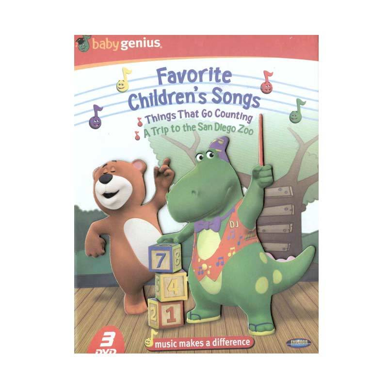 Emperor DVD Baby Genius - Children's Songs