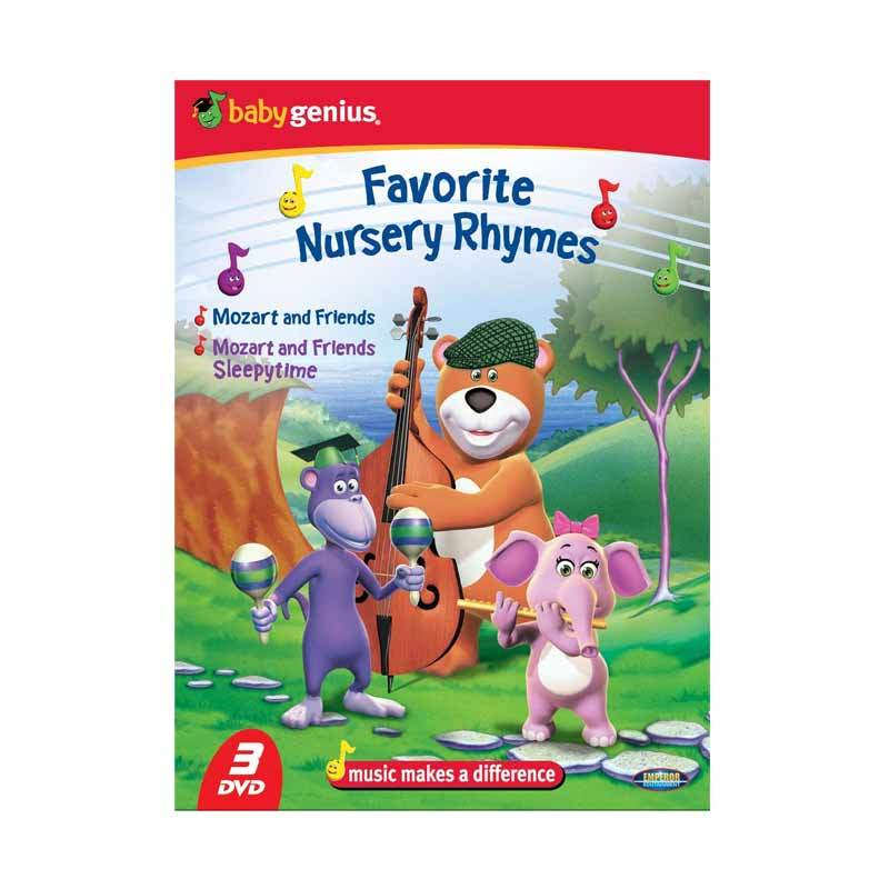 Emperor DVD Baby Genius - Favorite Nursery Rhymes