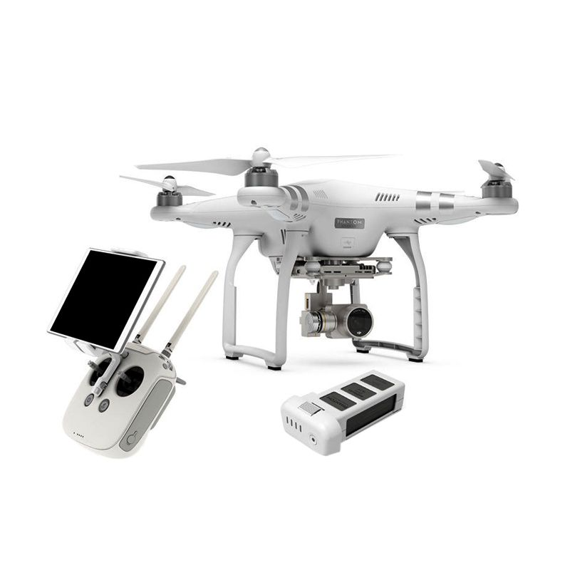 DJI Phantom 3 Advance White Mainan Remote Control