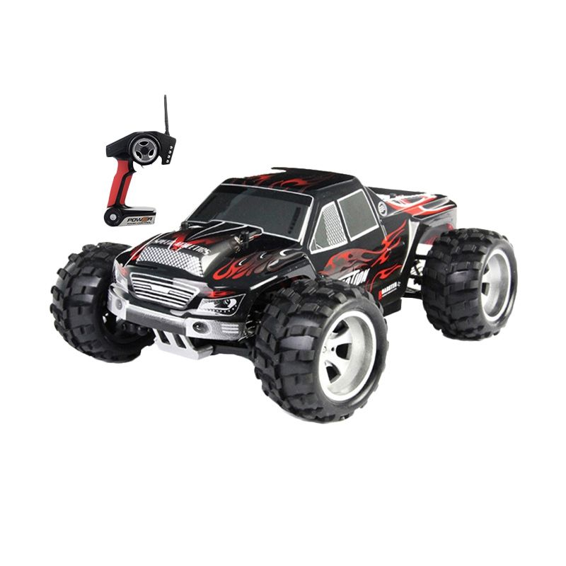 WL Toys Vortex A 979 Monster Truck Black Mainan Remote Control