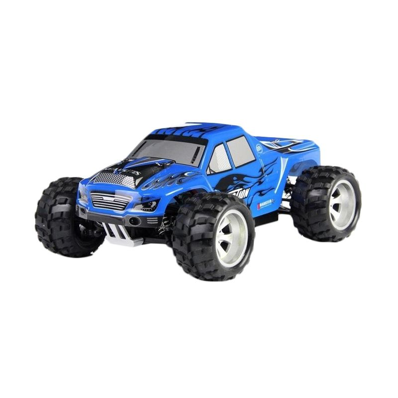 WL Toys Vortex A 979 Monster Truck Blue Mainan Remote Control
