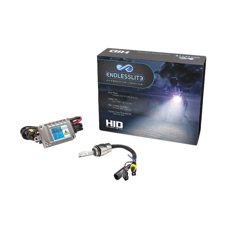 ENDLESSLITE HID H6 Kuning Keputihan Lampu Motor