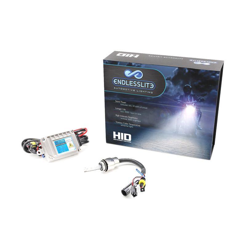 ENDLESSLITE HID H7 Biru Keputihan Lampu Motor
