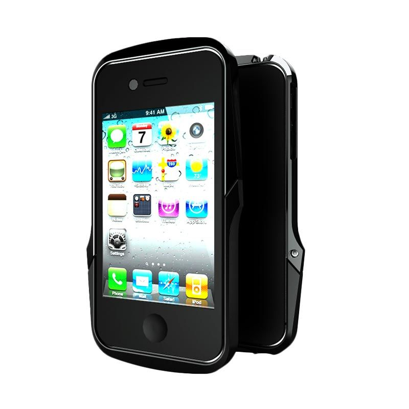 Case Logic AG+ + Metal Bumper Black