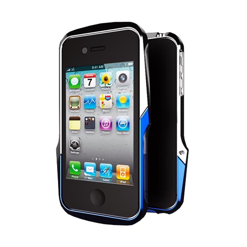Case Logic AG+ + Metal Bumper Blue