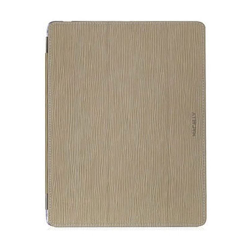 Macally Hardshell Clear Case With Amplifier & Detachable Cover For iPad (3rd Generation) - Khaki MCLCOVERMATEW