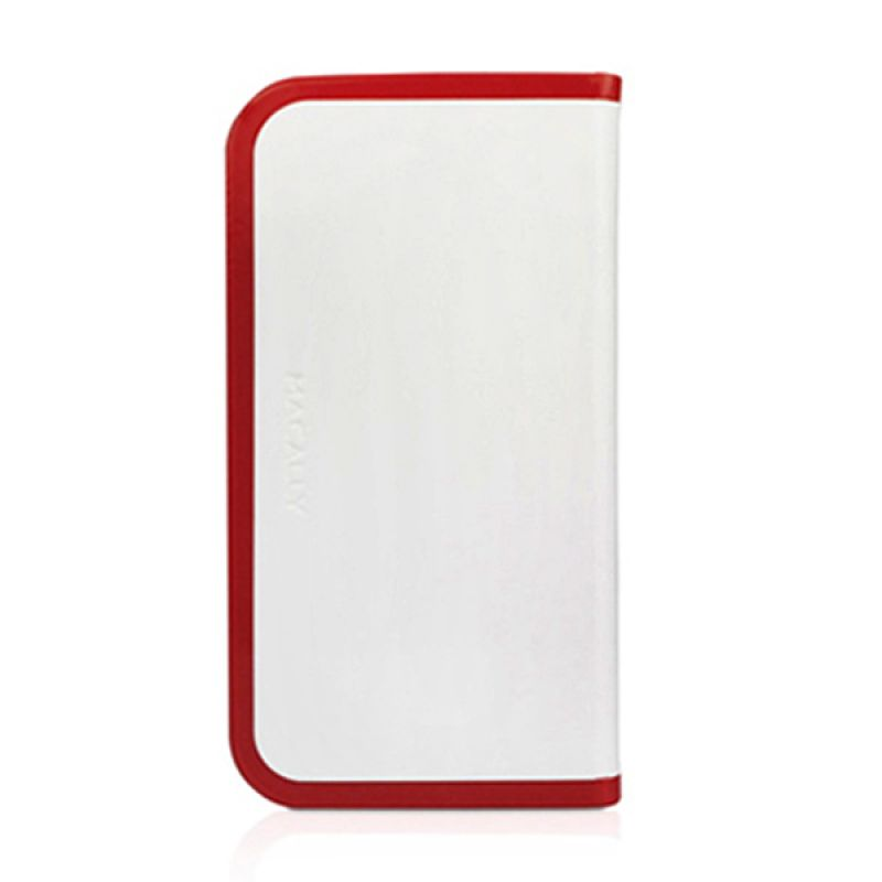 Macally iPhone 5 Slimcover5 Case Black Slimcover5r Red