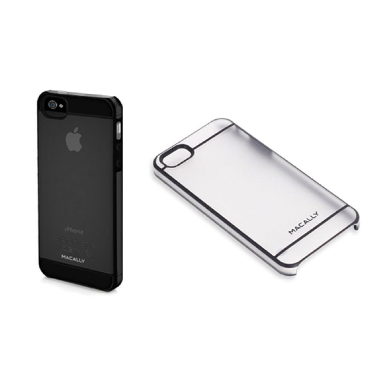 Macally iPhone5 Curve5 Case Black CURVE5B