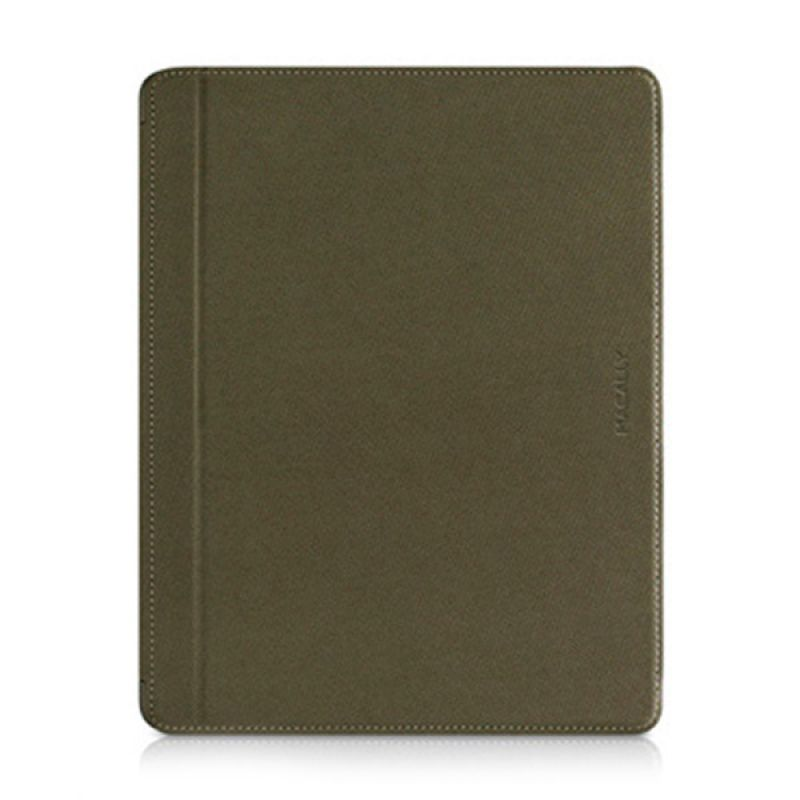 Macally Magnetic Snap On Case For iPad 3rd Generation Greenish Black MCLMAGCOVER3M