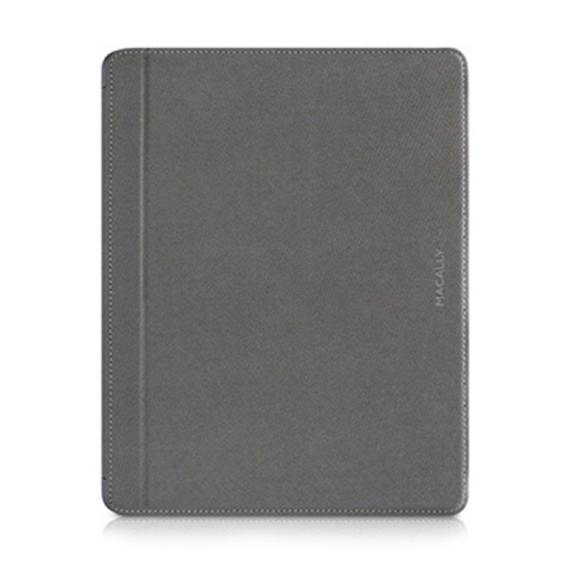 Macally Magnetic Snap On Case For iPad 3rd Generation Grey MCLMAGCOVER3