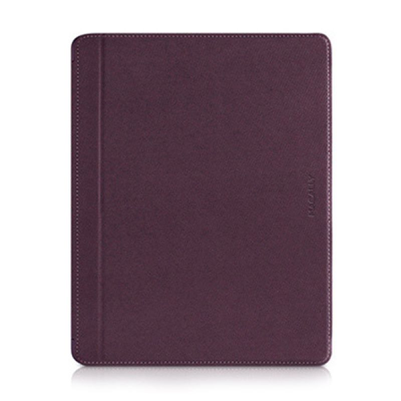 Macally Magnetic Snap On Case For iPad(3rd Generation) Purple MCLMAGCOVER3F