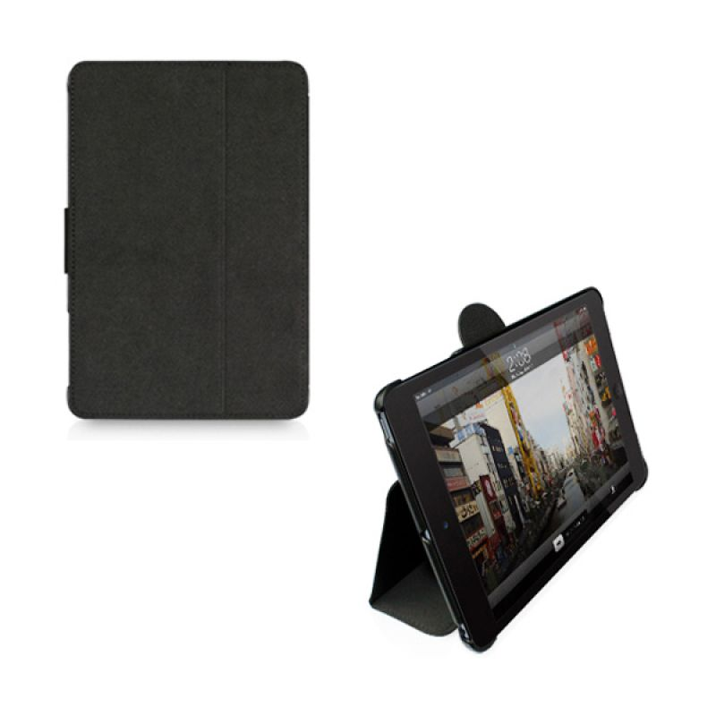 Macally iPad Mini Protective case & stand black BStandMiniB