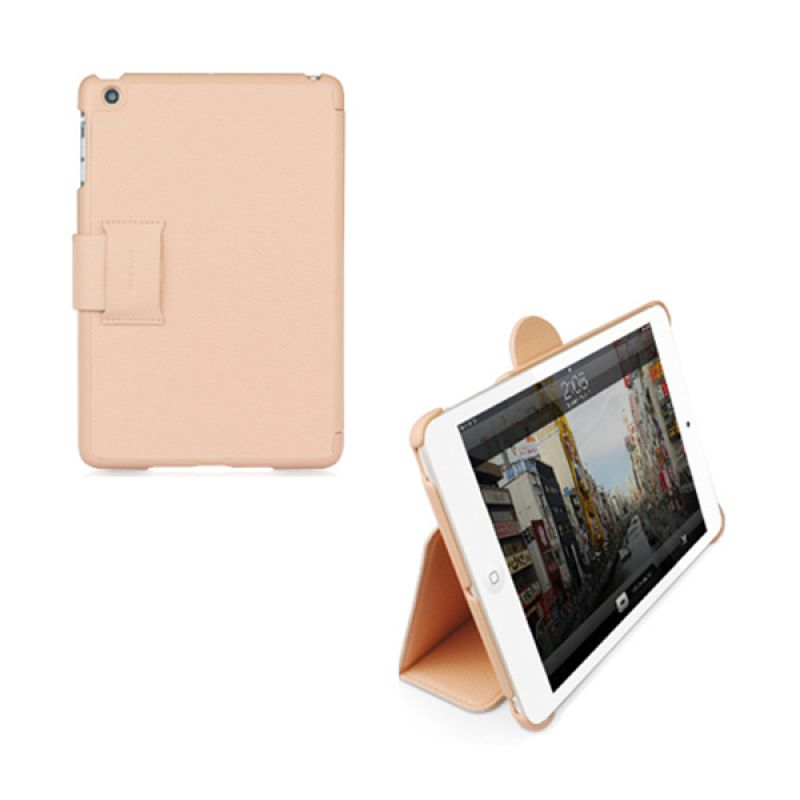 Macally iPad Mini Protective case & stand Pink BStandMiniP