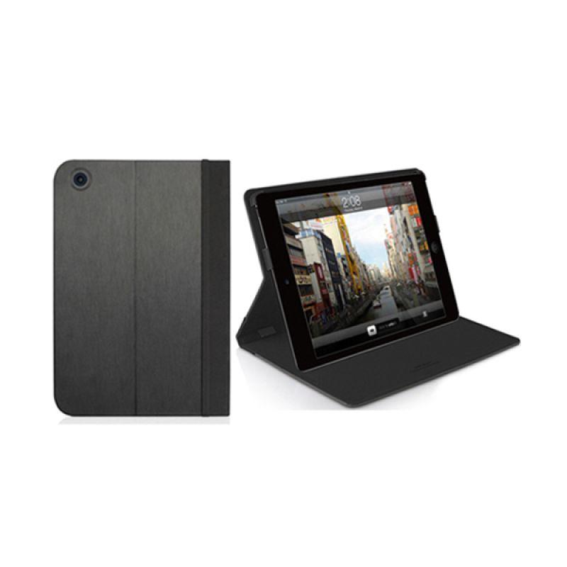Macally iPad Mini Slim Folio Stand Case Black SCoverMiniB
