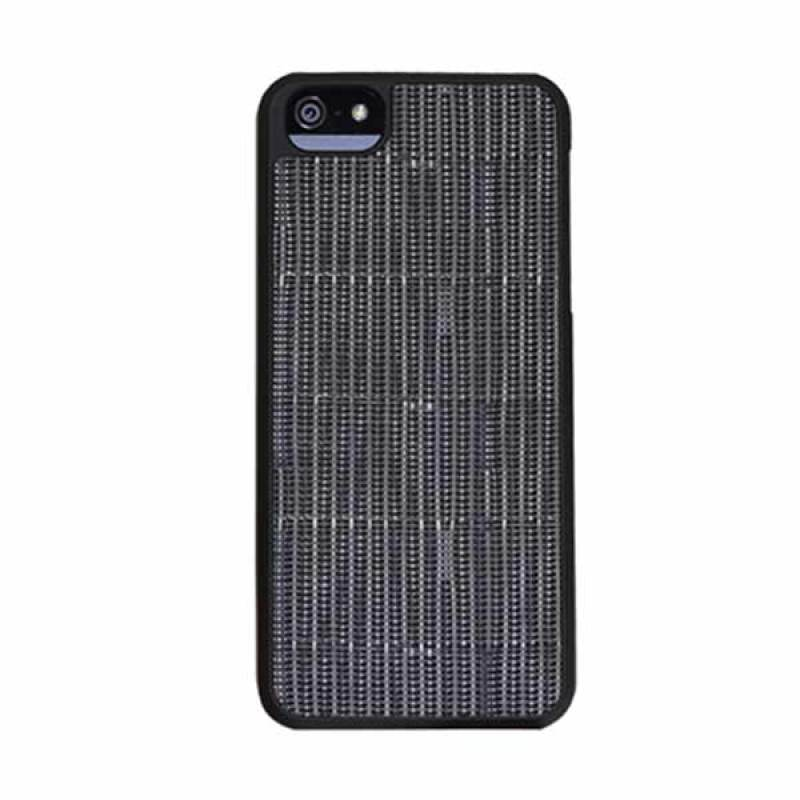 Macally Snap On Woven Case iPhone 5 Green WEAVE5GR