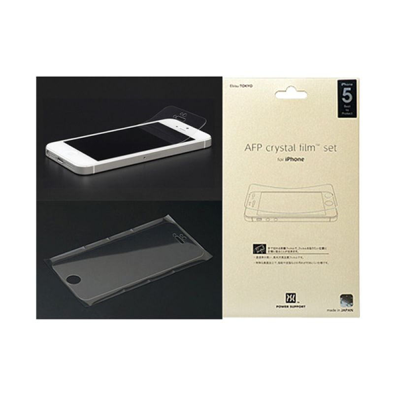 Power Support PJK 01 AFP Crystal Film Set for iPhone 5,5s,5c