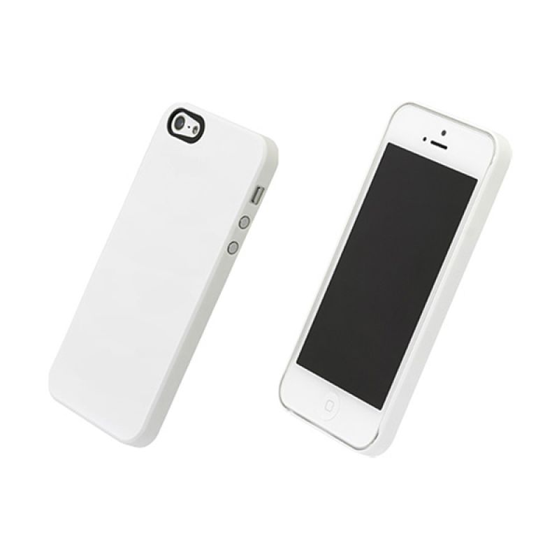 Power Support PJK 70 Air Jacket for iPhone 5 White Rubber Coating