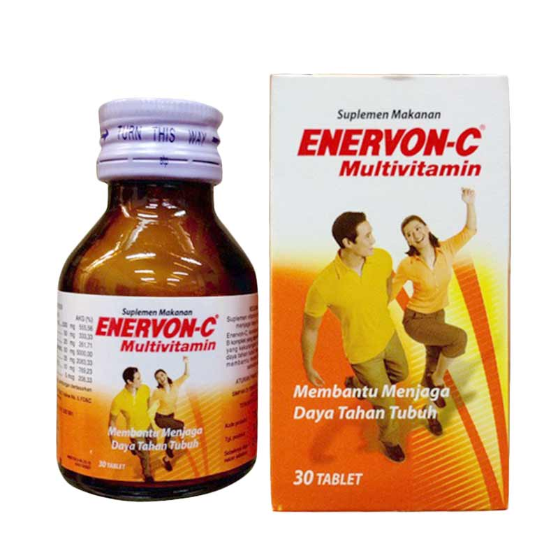 Enervon C Suplemen Kesehatan 30 Tab