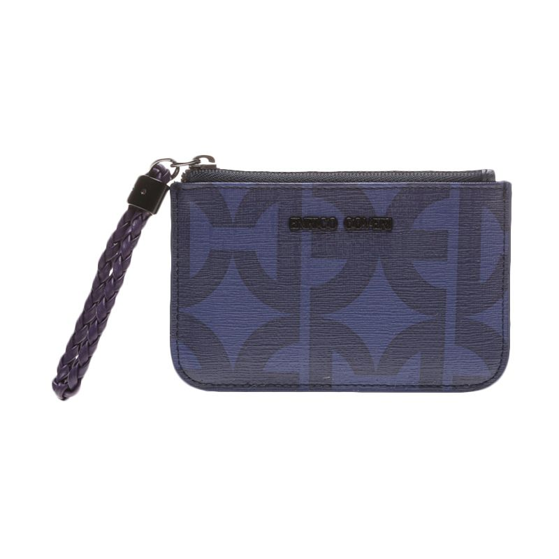 Enrico Coveri Viaggia Blue Coin Purse Dompet