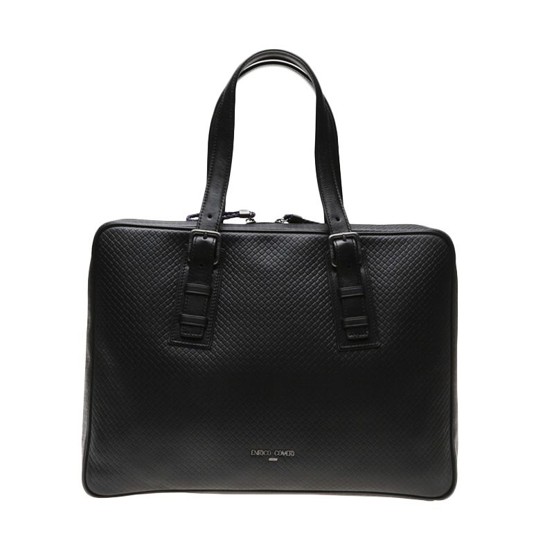 Enrico Grigilia Black Document Bag Tas Tangan
