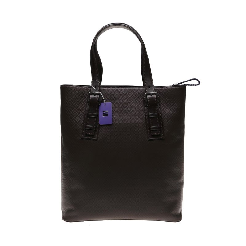 Enrico Grigilia Leather Walnut Tote Bag Tas Tangan