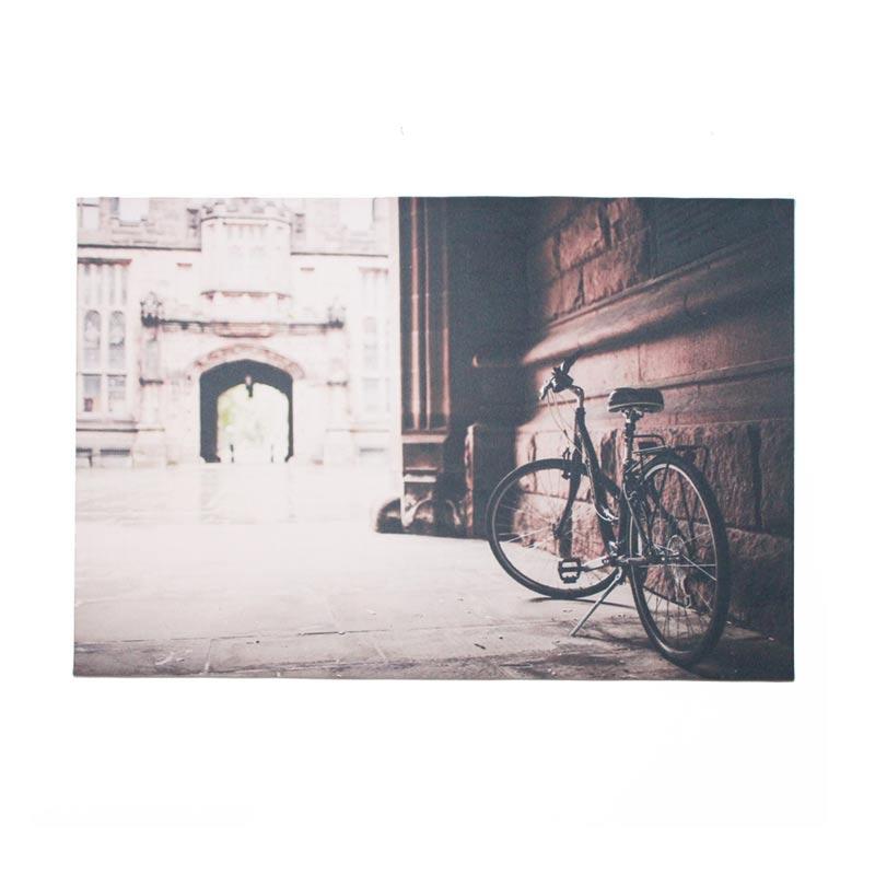 ENVIE Sepeda Lukisan Kanvas [60 x 40 cm]