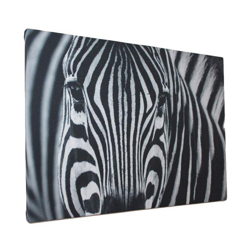 ENVIE Zebra Lukisan Kanvas [60 x 40 cm]