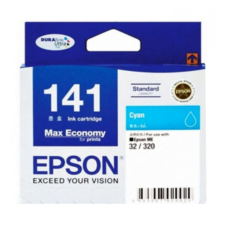 Epson 141 Cyan Ink Cartridge