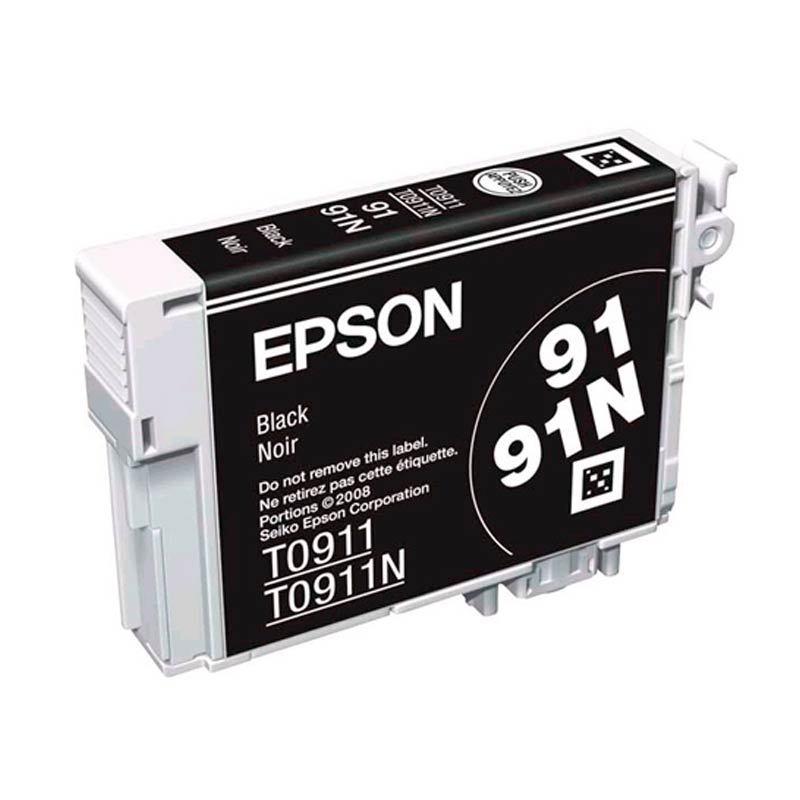 Jual Epson 91N Black Ink Cartridge Economic Capacity Online