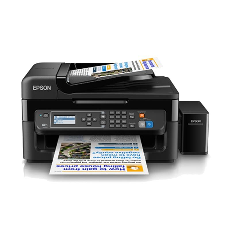 Epson L565 Printer Multifungsi [A4/color MFP/PSC/FAX/LAN/WiFi]