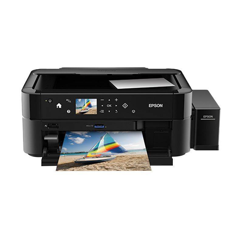 Epson L850 Hitam Printer Multifungsi [6 Color]