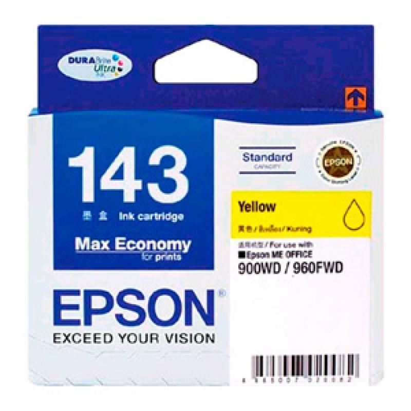 Epson T143 Yellow Ink Cartridge