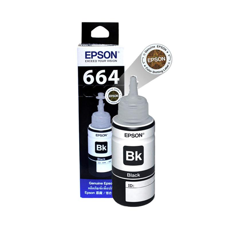 Epson T6641 Tinta Printer - Black