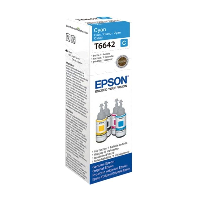 Epson T6642 Cyan Tinta Refill Printer