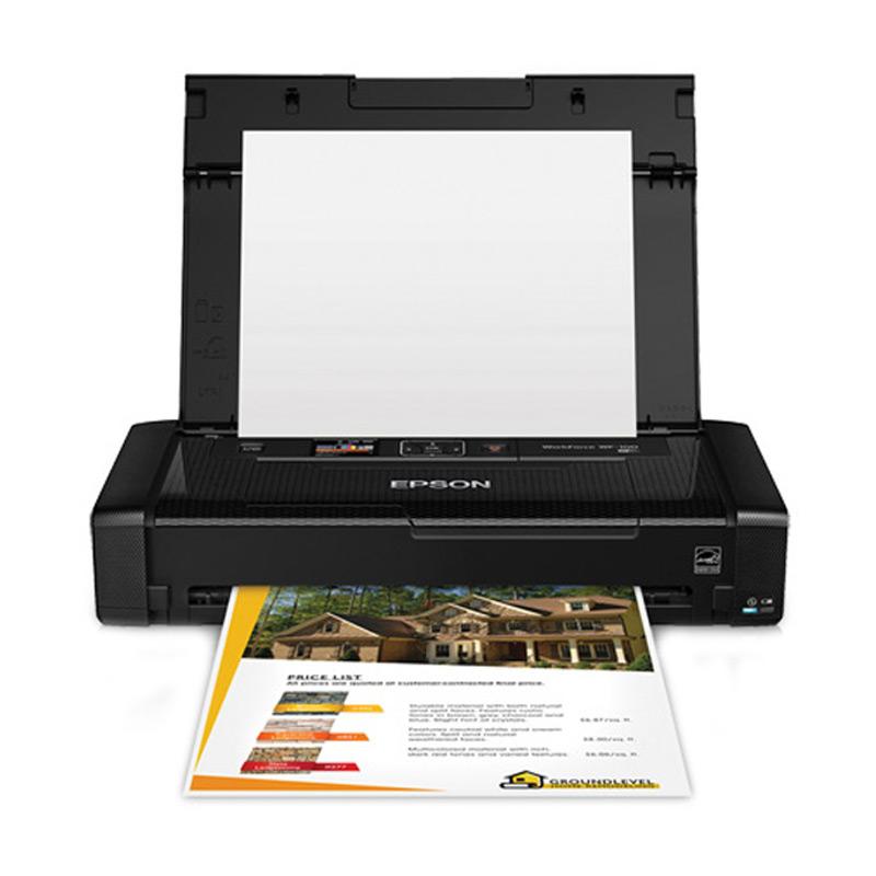 Epson Workforce WF-100 Mobile Printer - Hitam